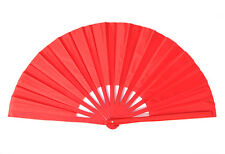 High Quality Chinese Kung Fu Tai Chi Martial Arts Bamboo Fan Red Black Available