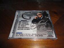 Chicano Rap CD & DVD Lil G - Different Stilo - MC MAGIC Mr. Criminal Lady Pinks