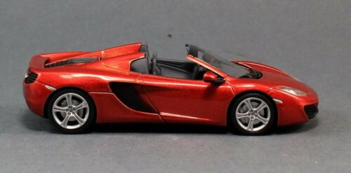 Minichamps 530133030 2012 McLaren MP4-12C Spider Orange Metallic 1:43 Scale Car