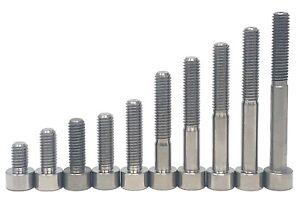 M6 Titanium Bolts Taper Cone Socket Head 10,15,18,20,25,30,35,40,45,50,55,60mm