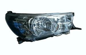 Headlight Right Side For Toyota Hilux Tgn/Kun/Ggn 2015-On