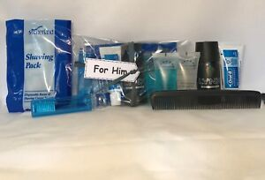 236d35b0c9c7 Details about Men's / Gents Travel Mini Toiletries Kit / Bag For / Flight /  Holiday Great Gift