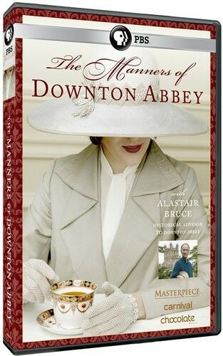 1 of 1 - Masterpiece: The Manners Of Downton Abbey (2015, DVD NEW)
