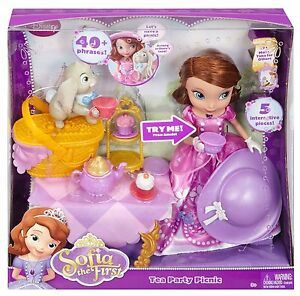 Disney Sofia The First Tea Party Picnic Talking Doll Ages 3 Girls