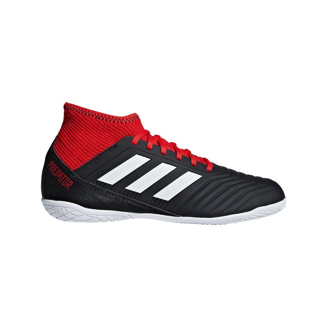 Adidas Kinder Predator Tango 18.3 Junior Hallenfußballschuhe black red DB2324
