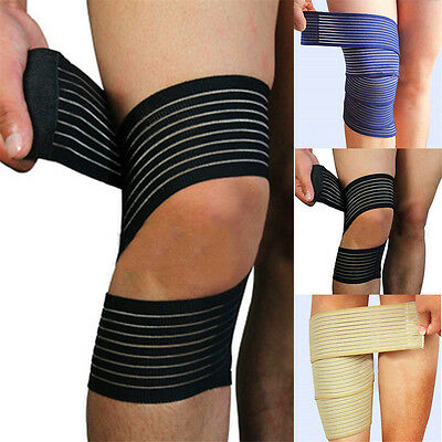 Knee Elbow Wrist Shin Ankle Hand Support Wrap Sport Bandage Compression Strap