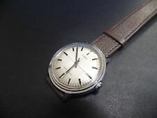 Extremely rare linen dial 1960  Made in Great Britain Timex vintage cross hair