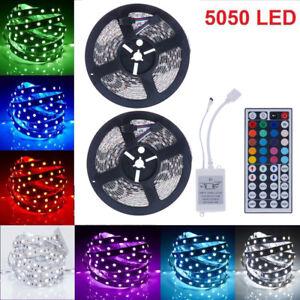 10M-LED-Stripe-RGB-Leisten-Streife-5050-Band-Lichter-Licht-Leuchte-Lichterkette