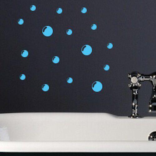 73 Bubble Peel Wall Tile Stickers Decals Bathroom Toilet Ensuite VinylSH5