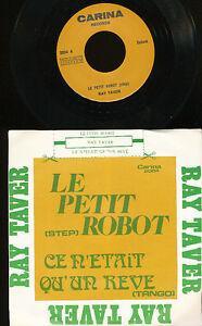 RAY-TAVER-45-TOURS-BELGIQUE-LE-PETIT-ROBOT-STEP