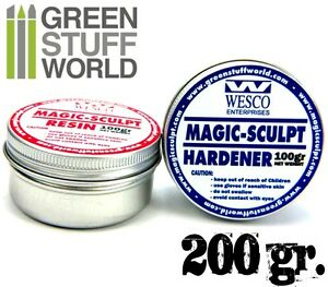 MAGIC-SCULPT-200gr-Modeller-Epoxy-Putty-Clay-for-modelling-sculpting-craft