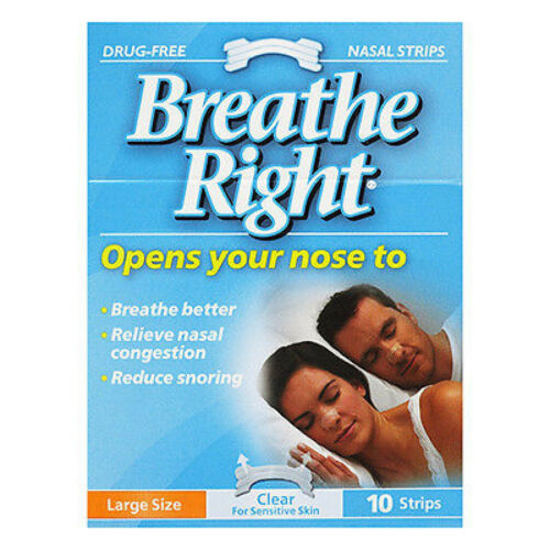 => Breathe Right Large 10 Strips , Anti Snoring, Stop Snoring