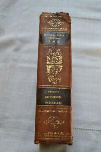 Histoire progrès sciences naturelles Depuis 1789 jusqu'a 1834 Cuvier T3/T4