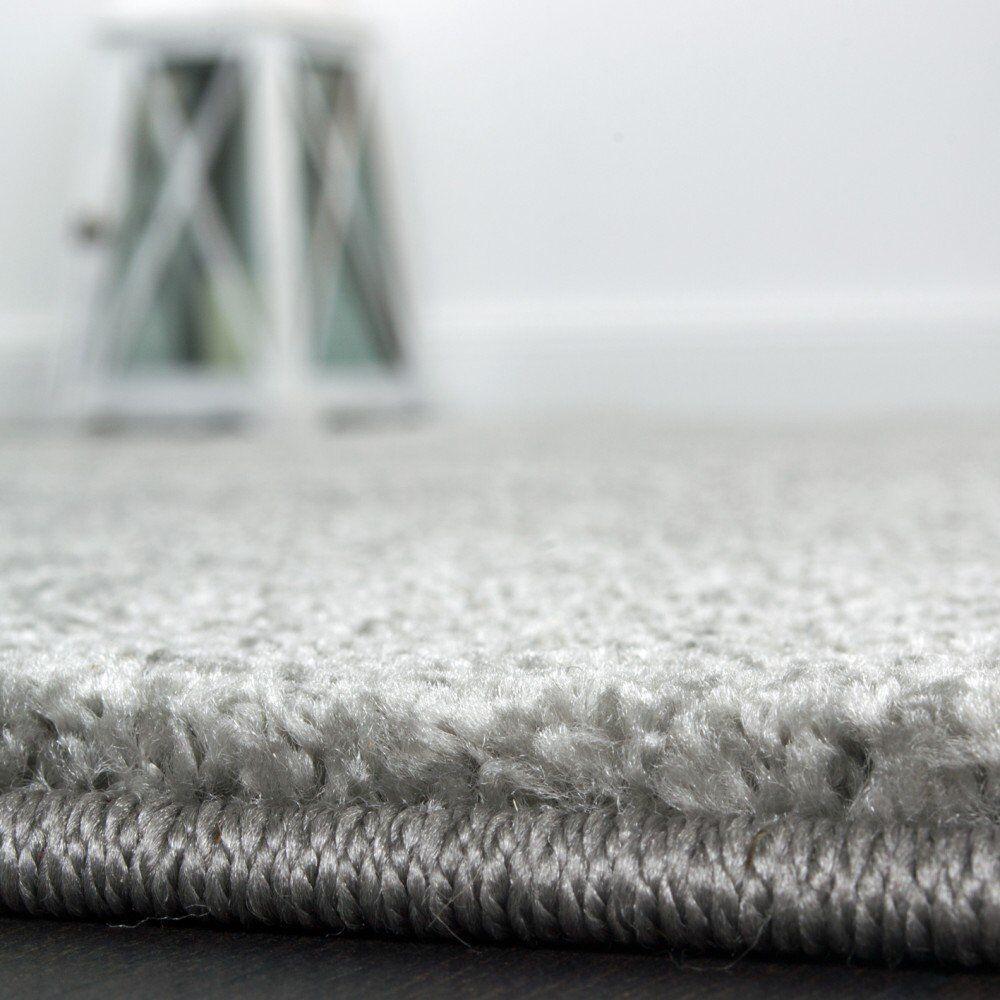 Design gris rug handmade contours cercles doux haute qualité qualité qualité grande trendy tapis ae4976