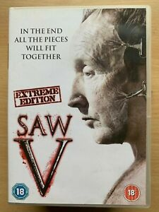 Saw-5-DVD-2008-Horreur-Thriller-V-Film-Largeur-Costas-Mandylor-Extreme-Edition