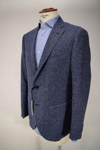 Tg Venturelli 7r e Giacca 54 P it Lino Sartoriale 56 Blu Fiammata Cotone Uomo S4xqnSz