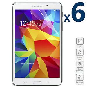 6-Pack-HD-7-0-039-039-Anti-Scratch-Screen-Protector-for-Samsung-Galaxy-Tab-4-SM-T230