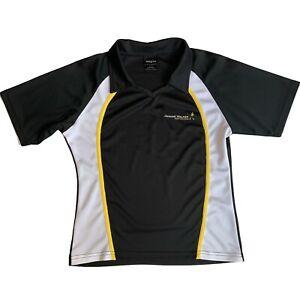 Johnnie-Walker-Polo-Scotch-Whiskey-Womens-Short-Sleeve-Golf-Tennis-Shirt-Black-L