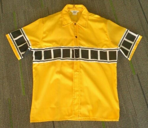 Vintage Yamaha Factory Racing button down shirt, s