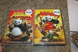 Lot Of 2 Dvd Kung Fu Panda And Kung Fu Panda 2 Ebay