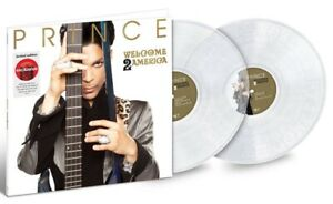 Prince - Welcome 2 America Exclusive Limited Clear Colored Vinyl Double 2 LP