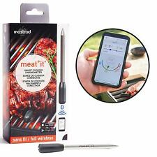 Meat It Wireless Thermometer and Cooking Sensor Meat Probe for Grill, BBQ, Oven