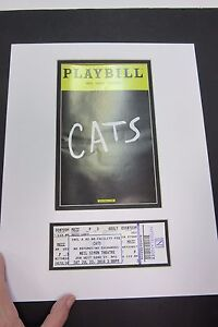 Picture Framing Mat 11x14 for Playbill and Theater Ticket fits standard frame