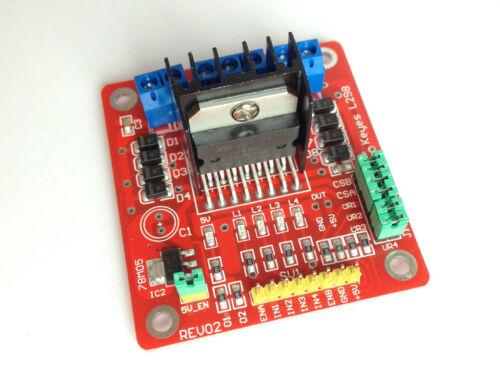 Controlador de motor módulo para ArduinoKeyes l298 rev02eb018 l298n motor Controller
