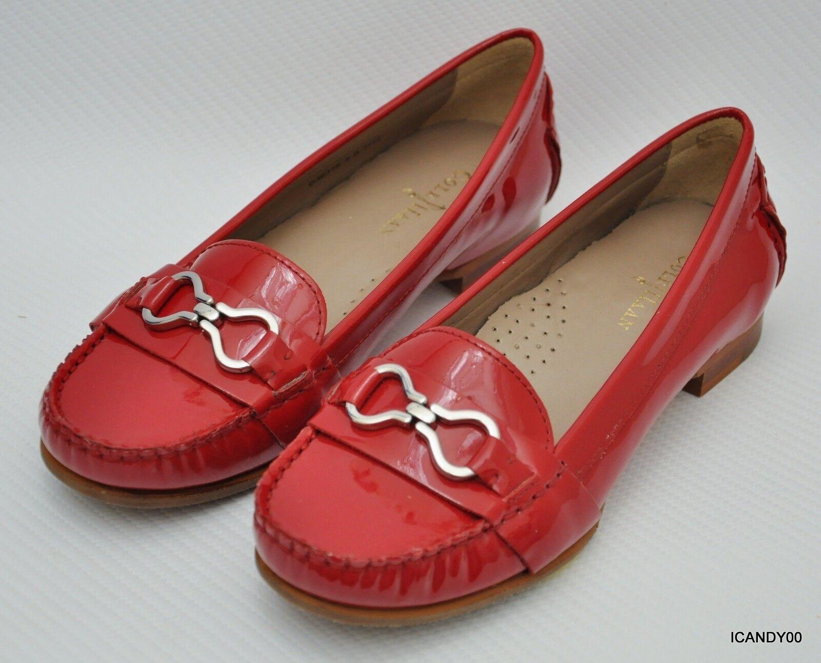 Nuevo Cole Haan Air Marlee Marlee Marlee Infinity patente Mocasín Moc Slip-on Zapato Plano  Rojo  5  hermoso