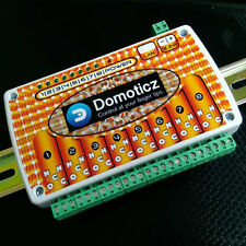 Domoticz Lan Ethernet Ip 8 Channels Relay Board With Clips For Din Mount Rail