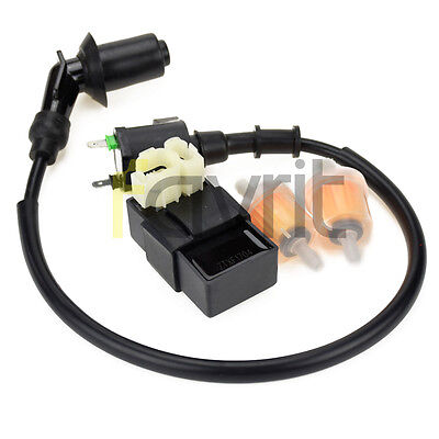 CDI IGNITION COILFor GY6 125 150 HOWHIT JCL WILDFIRE NST GO KART CHINESE  SCOOTER | eBay