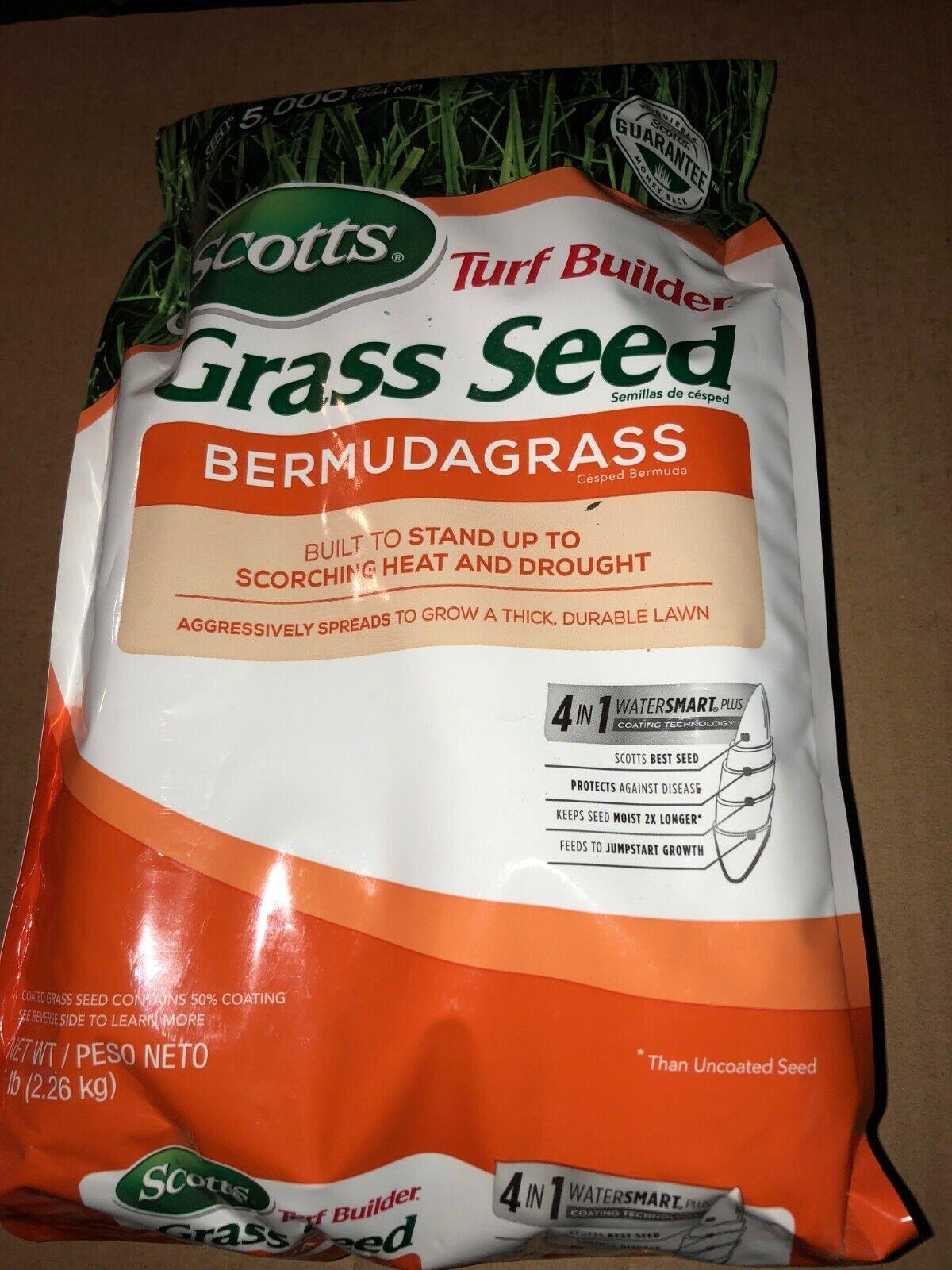 Scotts 18253 Turf Builder Bermuda Grass Seed Mix Bag 5 Pound For Sale Online Ebay