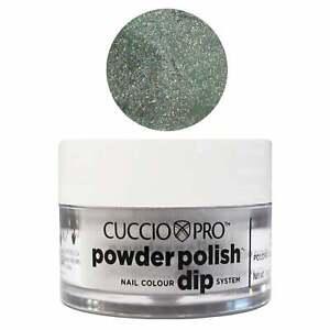 Cuccio-Pro-Powder-Acrylic-Dipping-Powder-Emerald-Green-W-Rainbow-Mica-14g-45g