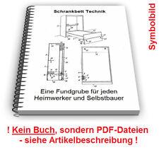 Schrankbett selbst bauen Wandbett Zusammenklappbares Bett Schrank Technik Patent