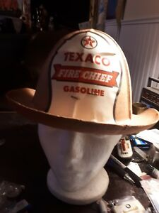 Original-1950s-Texaco-fire-chief-cardboard-fire-hat-giveaway-rare-unused