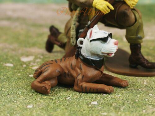Hood Hounds Slick Brindle Pit Bull Dog 1:18 GI Joe Cake Topper Figure K1285 C