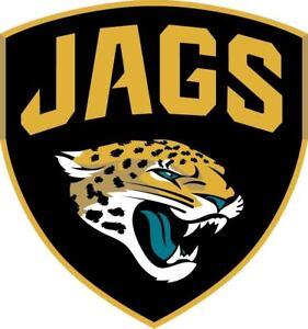 aeee4935 Details about Jacksonville Jaguars Jags Vinyl Sticker Decal *SIZES*  Cornhole Car Bumper Wall