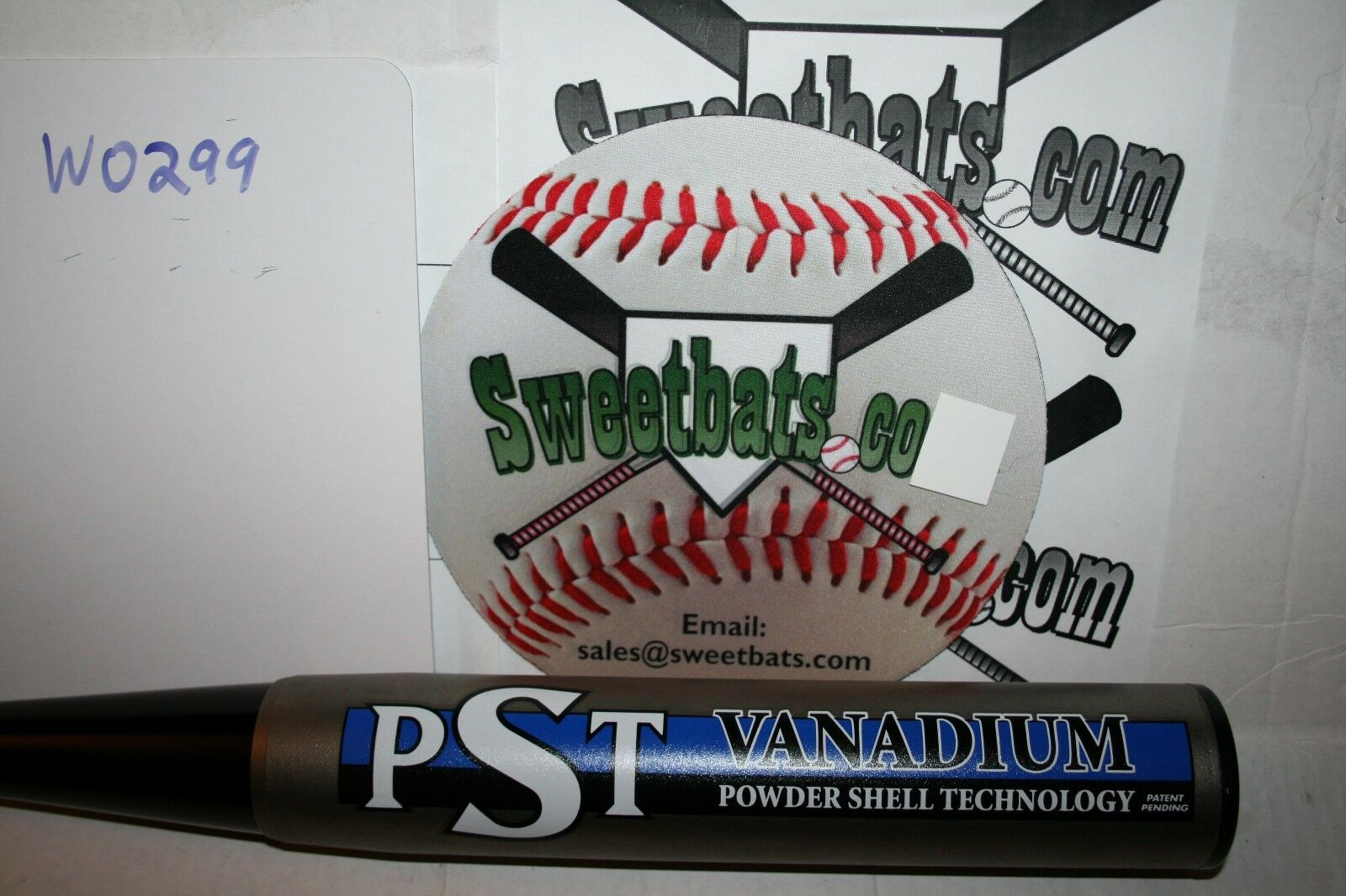 Ultra Rare NEW 2001 Worth PST softball bat Vanadium ASA 0 hits 27 27.5 slowpitch