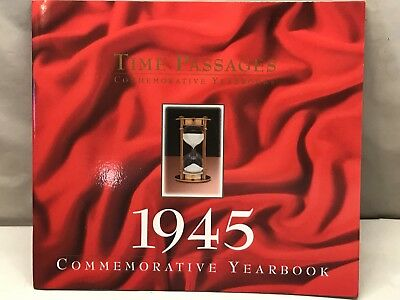 Gift Of Memories NEW Year 1945 Time Passages Commemorative Year In Review