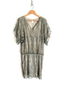 COLLETTE-DINNIGAN-Divine-039-Collette-Dinnigan-metallic-lace-dress