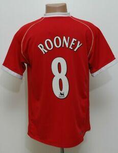 Manchester United 2006/2007 Calcio Casa Maglietta #8 ROONEY Nike taglia M adulto