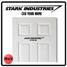 STARK INDUSTRIES IRON MAN, AVENGERS PORTA ADESIVO CEO, Marvel