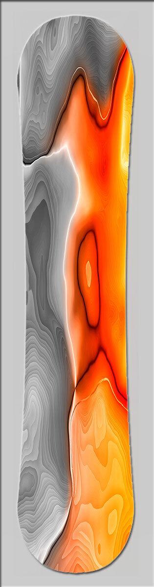 Snowboard Custom Topsheet Designer Folie von DIXTIME SB-095