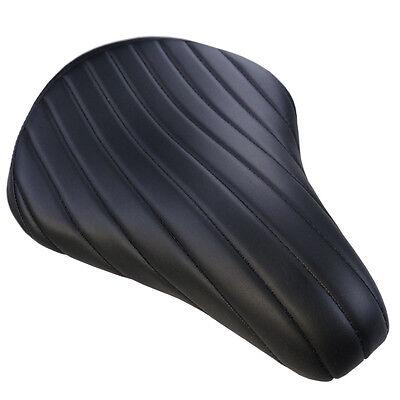 Hochwertiger Biltwell Einzelsitz schwarz Diamond Style für Harley und Custombike
