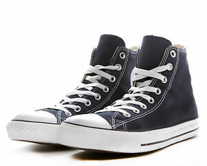 a22703ce5715 Womens Converse Navy Blue Chuck Taylor All Star High Top M9622 NEW ...