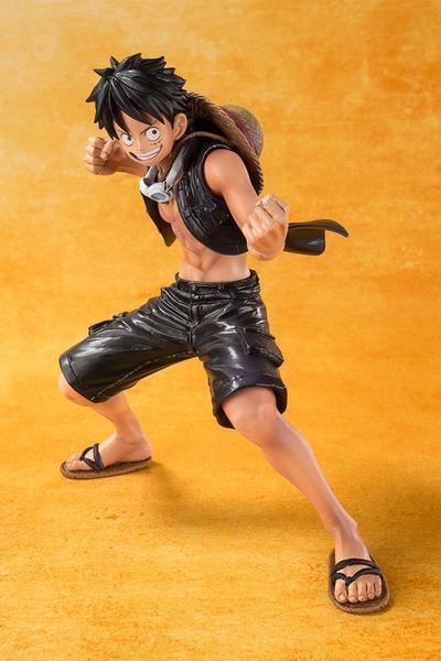 Figurine Figuarts Zero Luffy Film gold - One Piece - Bandai