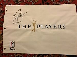 Rickie-FOWLER-SIGNED-PLAYERS-CHAMPIONSHIP-Flag-2015-Champion