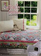 Butterfly Garden   Quilt  pattern only