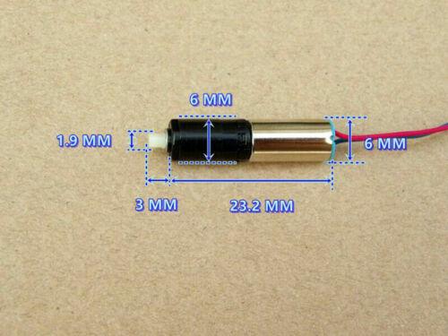 DC 3V 3.7V Slow Speed Micro Mini Tiny 6mm Planetary Gearbox Gear Coreless Motor