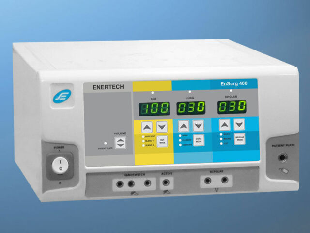 Electrotherapy Electrosurgical Generator Model Ensurg- 400  Digital Machine